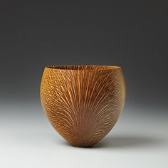 Macadamia (Hawaii) wood bowl, 1986, Bob Stocksdale.