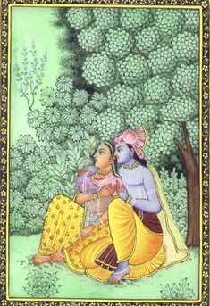 Attainment of the Divine depends on the intensity of longing and not on the time or qualification. Shiva Art, Krishna Art, Hindu Art, Hare Krishna, Radha Krishna Pictures, Krishna Images, Radha Radha, Buddha Doodle, Madhubani Painting