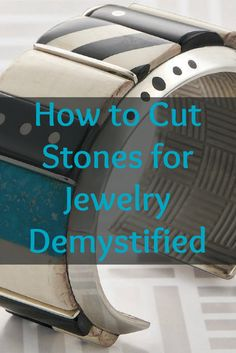 You'll LOVE these 5 FREE stone-cutting projects that'll teach you how to cut stones like a pro! #jewelrymaking #gemstones #stonecutting