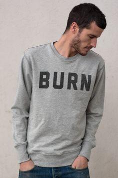 BURN Sweatshirt by Morrison