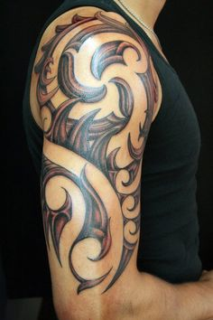 Custom Maori Tattoo - By Peter Bauer