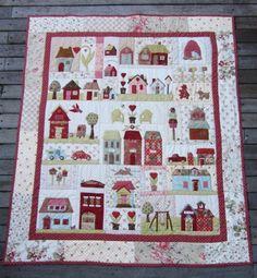 tiny town quilt - Google-Suche