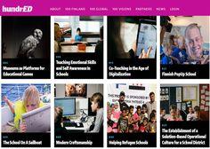 Crea y aprende con Laura: HundrED. En busca de los 100 proyectos educativos ...