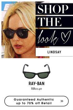 #lindsay wearing rayban sunglasses