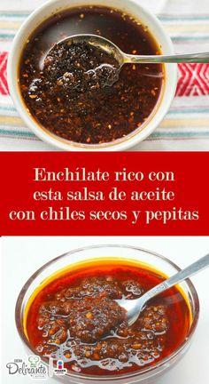 Salsa de pepitas y chile de árbol   CocinaDelirante