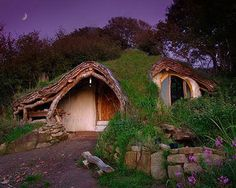 The Hobbit home. Homes inspired by Movies