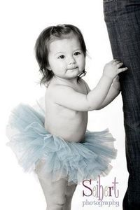1st birthday photos in teal tutu / baby time! - Juxtapost