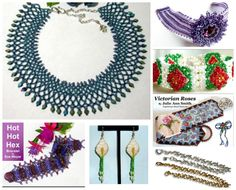 Beading Projects from various Issues of Bead-Patterns the Magazine! Currently 60% off Bead-until May 10, 2015 at Bead-Patterns.com!