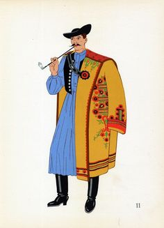 Sharp old Hungarian outfit.