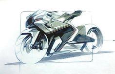 Design Sketches Slick MV Agusta marker sketch by Shane Paul Sumampouw A Stroke. Bike Sketch, Car Sketch, Porsche Electric, Motorbike Design, Concept Motorcycles, Industrial Design Sketch, Car Design Sketch, Ex Machina, Sketch Markers