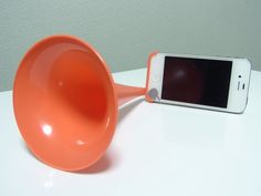 analog speaker for iPhone lol what's next