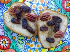 ~ The Edgar Cayce Diet ~ Acid vs. Alkalinity ~ Warm pears with nuts and raisins heal any bronchial and lung issues..Pears,Raisins,Pecans,Walnuts- (good for lungs,- they look like lungs - and  Cayce teaches to be aware of the form of   food - it can tell us what it heals just by it's form!) Place on baking dish in oven at 350 abt 20 min.  PS: Chronic lung and allergy issues- do Cayce's 3 day Pear fast So healing!  .