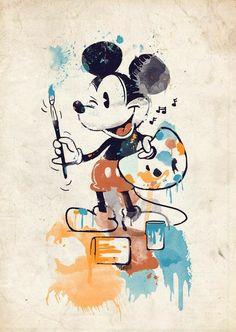 52 Ideas For Wall Paper Iphone Vintage Disney Pixar Mickey Mouse Disney Kunst, Arte Disney, Disney Magic, Disney Art, Disney Ideas, Punk Disney, Mickey Mouse And Friends, Mickey Minnie Mouse, Vintage Mickey Mouse