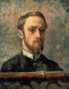 """Vuillard, Edouard : Self Portrait From Charles Sovek, """"A survey of the still life works of such diversified artists as Edouard Vuillard…will reveal not only impeccable arrangements of solid forms but also backgrounds that are thoroughly integrated into the composition."""""""