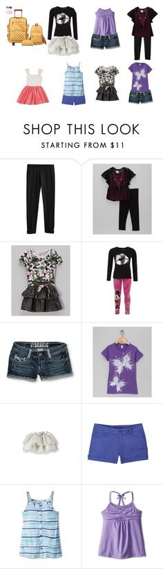 """Phoebe Going to SeaBrook"" by born2shine ❤ liked on Polyvore featuring Hydraulic, dELiA*s, Splendid Littles and Gracie"