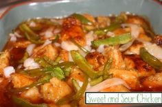 Sweet and Sour Chicken http://www.momspantrykitchen.com/sweet-and-sour-chicken.html