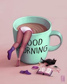 Are you looking for inspiration for good morning coffee?Check this out for cool good morning coffee inspiration. These amuzing images will bring you joy. Good Morning Coffee, Good Morning Picture, Good Morning Quotes, Coffee Break, Morning Pictures, Good Morning Inspirational Images, Morning Pics, Morning Mood, Good Morning Funny
