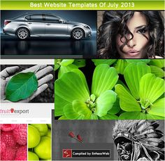 Best Website TemplatesOf July 2013