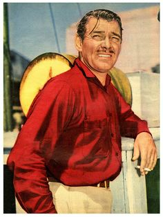 Clark Gable, the Story Behind the Legend - Tilda Old Hollywood Stars, Old Hollywood Movies, Old Hollywood Glamour, Golden Age Of Hollywood, Vintage Hollywood, Classic Hollywood, Glamour Movie, Star Illustration, All In The Family