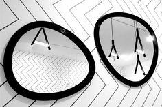 miroir-ovale-noir-papier graphique-victoria wilmotte