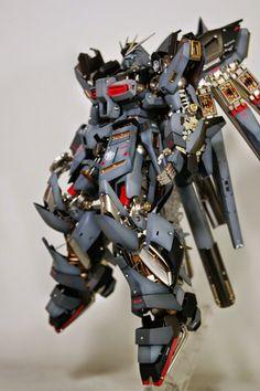 "Custom Build: MG 1/100 RX-93-v2 hi-nu Gundam Ver. Ka ""Open Hatch Presentation"" - Gundam Kits Collection News and Reviews"