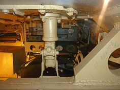 The interior view in a Tiger 1 tank