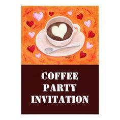 Taza De Café Invitaciones, Taza De Café anuncios, Taza De Café convites