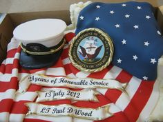 Click for more Military Cakes by The Icing - The Icing - www.theicingcakes.com Military Retirement Parties, Retirement Cakes, Retirement Ideas, Beautiful Cakes, Amazing Cakes, Marine Boyfriend, Call Of Duty Cakes, Party Ideas, Décor Ideas