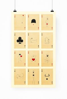 Playful & Imaginative Cards That Feature Humorous Illustrations Of Characters - DesignTAXI.com