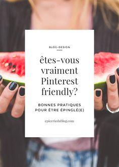 Un blog Pinterest-friendly. Image pinnable & plugins pour Pinterest.