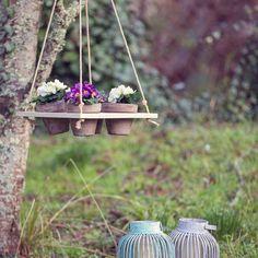 Image of Balançoire pour fleurs