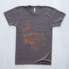 NYC Unisex T-Shirt Coffee