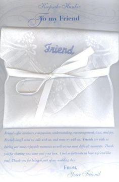 Perfect Wedding Gift For Sister : perfect pre-wedding gift for a sister or a special friend, this ...