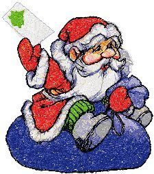 Advanced Embroidery Designs - Santa with Letter