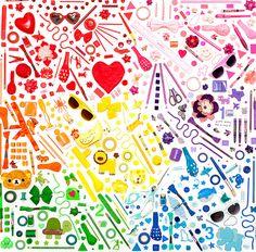 color me katie organized mess :)
