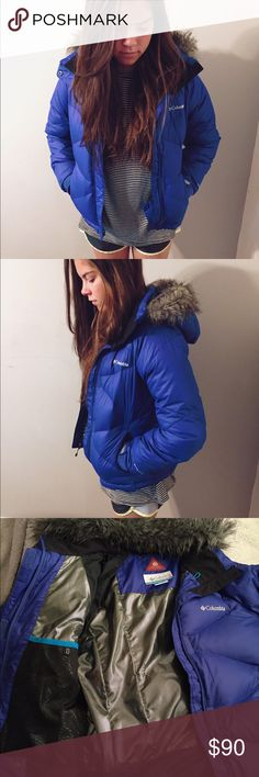 Snow jacket Open to offers! This is a blue Columbia kids snow jacket. This is a very nice jacket with many features. It has a removable hood. You are also able to adjust the hood to make it smaller or bigger to fit your head. There are two pockets on the outside and one on the inside that is made for glasses or goggles. There is a pocket on the inside made for your phone or iPod so that you are about to listen to music. It's made to fit a child. Is only been used for one weekend at the snow…