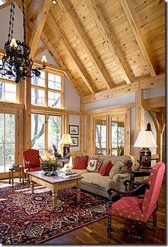 Photo Album Timber Frame Home Environmentally Designed Timber Frame Eco Environmental Building Materials Custom Post & Beam Timber Frame Design Packages