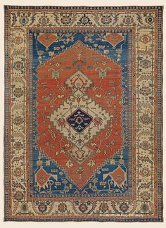 "BAKSHAISH, Northwest Persian Antique 11' 0"" x 14' 7"" — 3rd Quarter, 19th Century Rug - Claremont Rug Company Click to learn more about this rug."