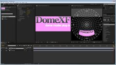 With DomeXF, planetarium and fulldome artists can create a virtual dome space in an After Effects composition. DomeXF digitally transforms images by adjustin. Digital, Youtube, Dance Games, Display, Youtube Movies