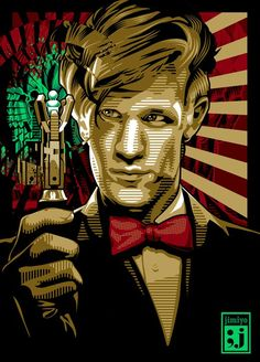 Proving again and again that all you need to save the universe is a sonic screwdriver and a bowtie.  Bowties are cool!