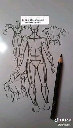 Human Drawing, Drawing Base, Drawing Body Proportions, Drawing Legs, Drawing Hands, Art Drawings Sketches Simple, Pencil Art Drawings, Human Anatomy Art, Body Drawing Tutorial