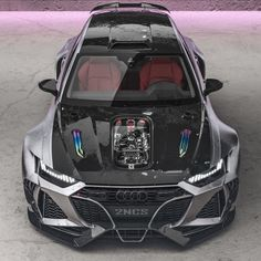 Insane 2020 Audi RS6 Widebody Rendering Looks Real, Has Four-Ring Exhaust - autoevolution Audi Rs6 Avant, Rs6 Audi, Audi S5 Sportback, Audi Tt, Luxury Sports Cars, Exotic Sports Cars, Best Luxury Cars, Exotic Cars, Audi Sport