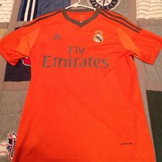 52d215e80 Ronaldo soccer jersey A shortsleeve orange soccer Ronaldo jersey and very  comfortable and clean Adidas Other