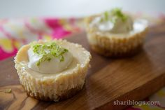 Mini Key Lime Pies - Shari Blogs...all things sweet & delicious!