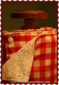 DIY Faux Paper Towels. Upcycled, Eco-friendly and Economical!