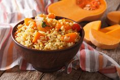 Autumn Rice Pilaf with Butternut Squash. Swap out chicken broth for vegetable broth to make this a great go-to pareve side dish for fall.