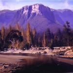 Kedumba Valley Reflections - 120 x 90 © Copyright John Wilson