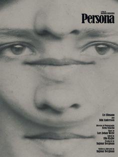 Ingmar Bergman's Persona Film Poster