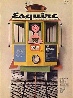 Vintage Esquire, May 1958.