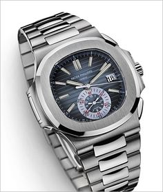 PATEK PHILIPPE SA - Nautilus Ref. 5980/1AR-001 Stainless Steel and Rose Gold